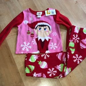 Toddler girls pajama size 4T